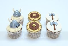 Viking Cupcakes                                                                                                                                                                                 More