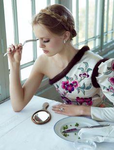 Ella Wennström by Camilla Åkrans for Vogue Italia November 2016