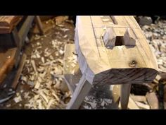 Shave Horse - Measurements and Design - YouTube