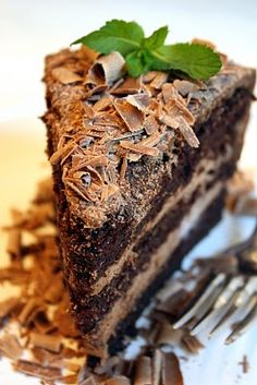 Jane's Sweets & Baking Journal: Chocolate Mousse Dream Cake . . . and One Boy's Birthday