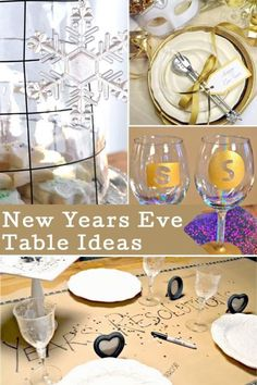 Four New Years Eve Table Ideas | eBay Funky Home Decor, New Year Celebration, Do It Yourself Projects, New Years Eve, Decor Ideas, Diy Ideas, Diy Projects, Creative, Funky Junk