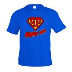 Camiseta día del Padre - Super papa (Talla: TALLA-M) #camiseta #starwars #marvel #gift