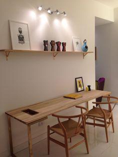 Escritório/ Home Office - Rafaela Lourenço - Morar Mais por Menos 2013 - Brasília - Brasil