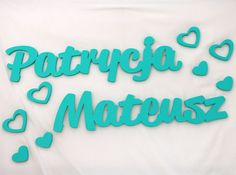 Imiona na ściankę Partycja&Mateusz