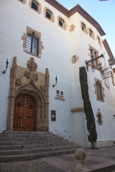 Palau Maricel in Sitges Sitges, Barcelona, Beautiful Beaches, Costa, Spanish, Architecture, Places, Travel, Souvenirs