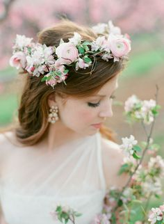 Southern Blooms floral crown