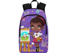 Black Owned. Kids BackpacksAfro Print Luggage   by BrownKidSwagcom Black  Girl Magic 88168a3f6d80f