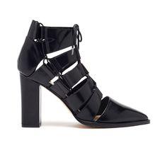 Yummy shoe/bootie. Loeffler Randall Reeve Lace-Up Bootie | Booties | LoefflerRandall.com