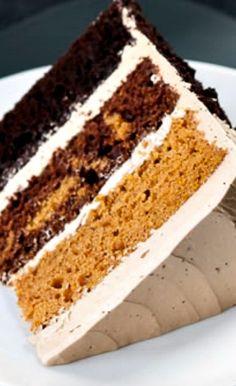 Butterscotch Pumpkin Chocolate Cake Recipe