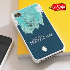 Howl's Moving Castle Art  iPhone 4S case iPhone 5S by RogohSukmo, $5.00