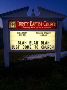 Funny Sayings Hilarious Church Signs 32 Ideas