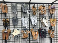 Sandals on Open Wire Grid Overview