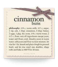 cinnamon buns #recipe #philosophy #holiday