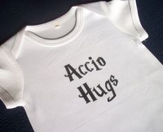 Harry Potter inspired baby bodysuit onesie by GelertDesign on Etsy, £6.00