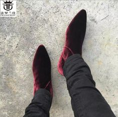 Velvet Ankle Boots, Mens Ankle Boots, Chelsea Ankle Boots, Business Casual Dress Shoes, British Style Men, Martin Shoes, Fashion Brand, Mens Fashion, Dress With Boots