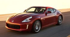 2013 Nissan 370Z. This will be my car one day...but black with black rims and black interior. Coupe. :) mmm