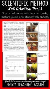 Blog post. Awesome ideas for teaching the scientific method.