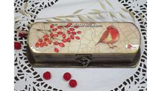 Decoupage tutorial - DIY.  How to decorate a pen/gift/glasses box. Make Rosary holder boxes!
