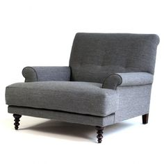 Oscar Armchair - Lounge - Sofas + Pouffes + Lounge Seating - Living Love the shaker style legs, lookin' so comfy to me