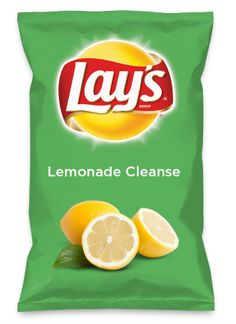 Wouldn't Lemonade Cleanse be yummy as a chip? Lay's Do Us A Flavor is back, and the search is on for the yummiest chip idea. Create one using your favorite flavors from around the country and you could win $1 million! https://www.dousaflavor.com See Rules.