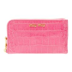pink wallet!
