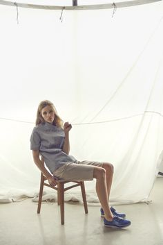 New Inga Buczynska campaign for spring - summer 2015. Minimal look