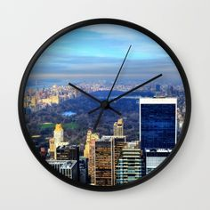 Buy Central Park Wall Clock by haroulita!!. Worldwide shipping available at Society6.com. Just one of millions of high quality products available.