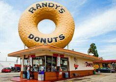 Randy's Donuts near Inglewood, Calif.