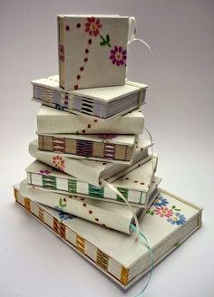 Vintage Embroidered books .... Kate Bowles