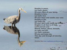 A New Breath Prayer Christian Mindfulness, Christian Meditation, Contemplative Prayer, Relaxation Response, Meditation Quotes, Let God, Spiritual Practices, Gods Love, Grief