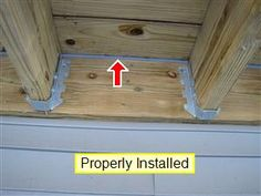 Deck Flashing that has been properly Installed. Description from yourhomeinspectionchecklist.com. I searched for this on bing.com/images
