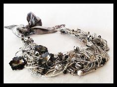 """coleccion """"Las mil y una noches """" Crochet Necklace, Jewelry, Fashion, Accessories, Moda, Jewlery, Jewerly, Fashion Styles, Schmuck"""