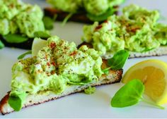 AVOCADO EGG SALAD - avocado, healthy, lemon, recipes, salad