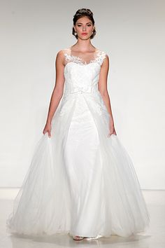 Wedding gown by Anne Barge