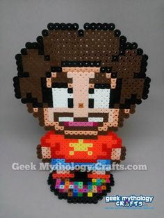 Steven Universe Perler Bead Sprite by GeekMythologyCrafts
