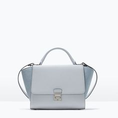Image 1 of COMBINED CITY BAG WITH BUCKLE from Zara