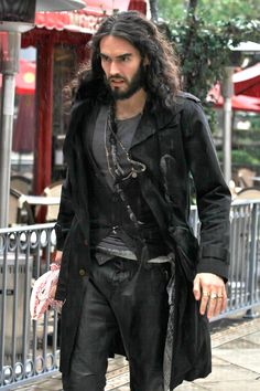 Russell Brand - This picture proves that he should be cast as Jack Sparrows younger brother!