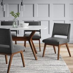 I want this lovely open Dining Room Mid Century Dining Chairs, Mid Century Chair, Modern Dining Chairs, Dining Table Chairs, Dining Furniture, Cafe Furniture, Autocad 3d, Esstisch Design, Dining Table Design