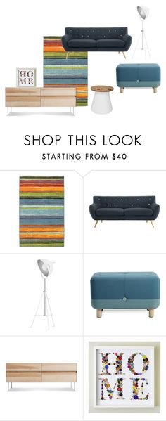 """home"" by redstitch ❤ liked on Polyvore featuring interior, interiors, interior design, home, home decor, interior decorating, Improvements, Normann Copenhagen, Blu Dot and Safavieh"