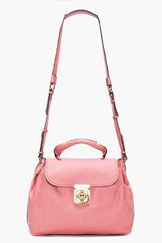CHLOE Medium Salmon Elsie Bag  want all things pink!!