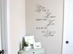Wall Decals - NEW Afrikaans Lewe Vinyl Wall Art Quote Sticker Decal Vinyl Interior for sale in Pretoria / Tshwane Vinyl Wall Art, Wall Decals, Pretoria, Afrikaans, Stickers, Interior, Quote, Home Decor, Quotation