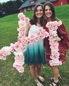Medium rose letters
