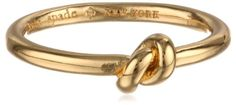 "kate spade new york ""Sailor's Knot"" Jet and Clear Ring, Size 6 - http://www.immmb.com/jewelry/kate-spade-new-york-sailors-knot-jet-and-clear-ring-size-6.html/"