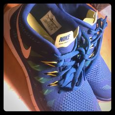 Nike 5.0 Used but still clean and small wear and tear Nike Shoes Athletic Shoes