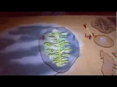 Silk screening for fused glass. - YouTube