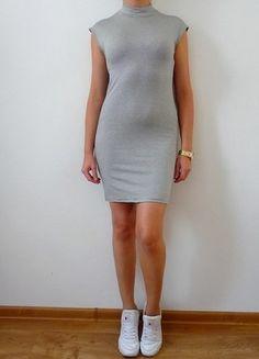 Kup mój przedmiot na #vintedpl http://www.vinted.pl/damska-odziez/krotkie-sukienki/10600661-miss-selfridge-s-m-sukienka-w-paski-paseczki-golf-polgolf-jesienna-sportowa-fajna-krotka-hit