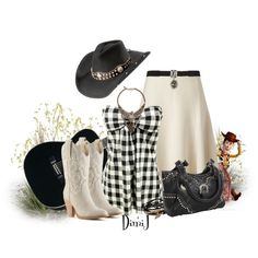 """""""Western Contest Entry - With My Favorite Cowboy :)"""" by dimij on Polyvore"""