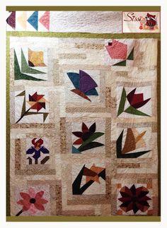 Cortando una flor by Sissi Gutiérrez (Sissi Quilting & Stitch)