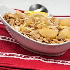 Habermus: Spelt Flakes with Apples