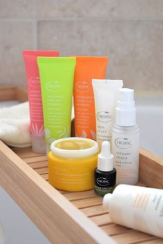 Discovering the award-winning, cruelty free Tropic Skincare. Spa Room Decor, Color Me Beautiful, Tropical Party, Vegan Beauty, Free Things, Beauty Room, Travel Essentials, Beauty Secrets, Healthy Skin